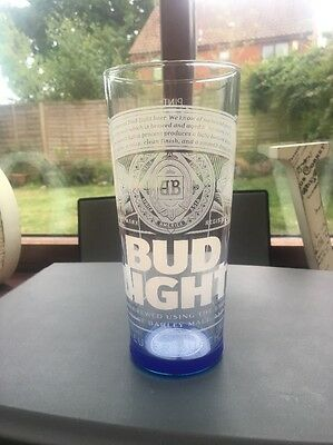 Bud Light Pint Glass 2017
