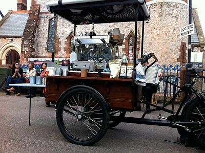 Coffee business for Sale. Coffee Trike