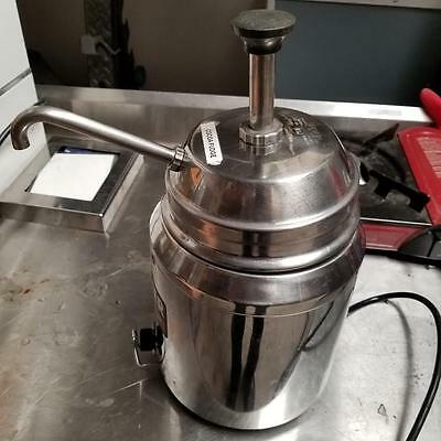 Server Product  82060 - Heated Topping Pump Food Warmer tested works good