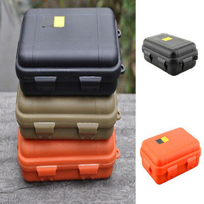 2 Sizes Outdoor Plastic Waterproof Airtight Survival Case Container Storage ft