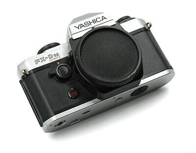 Yashica FX-D SE Quartz Replacement Cover - Recycled Leather - Flat