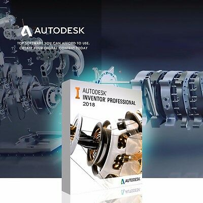 Autodesk Inventor Pro 2018 (64bit) Download FULL Unlimited Software Licence