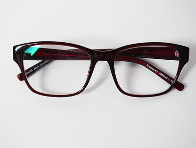 Specsavers Anise Glasses Frames Spectacles Red
