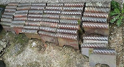 Victorian Glazed Rope Edge Edging Tiles 50