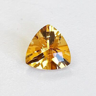 Natural 9 mm Trillion Loose Citrine Gemstone