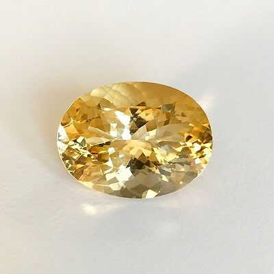 Natural 8 x 6 - 20 x 15 mm Oval Loose Citrine Gemstone