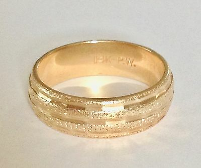 14K Gold Band, Scrap Or To Use, 6.04 Grams