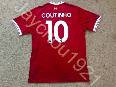Philippe Coutinho Liverpool Red Home Jersey NWT