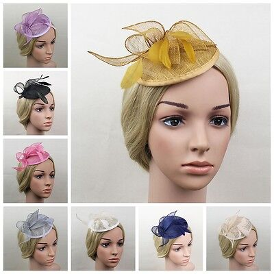 Large Headband Aliceband Hat Fascinator Weddings Ladies Day Race Royal Ascot New