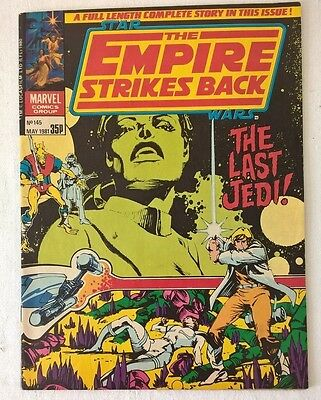 Star Wars Weekly No 145 The Empire Strikes Back The Last Jedi Date 05/1981