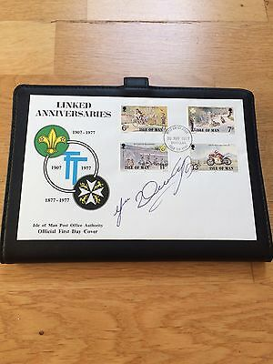 Joey Dunlop Signed Isle Of Man TT First Day Cover