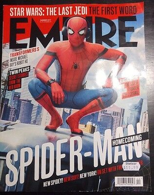 New SPIDER-MAN: HOMECOMING Cover EMPIRE Magazine Tom Holland New