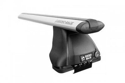Rhino Rack 04-11 Mazda RX8 2dr Coupe 2500 Multi Fit Aero Roof Rack System Silver
