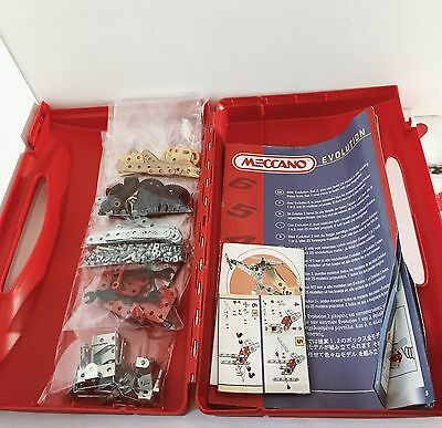 Meccano Evolution Set 1 Incomplete With Box And Instructions 1995