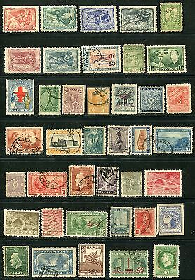 Greece 1944 start with earlier inc. collection of 264 mh/u stamps.