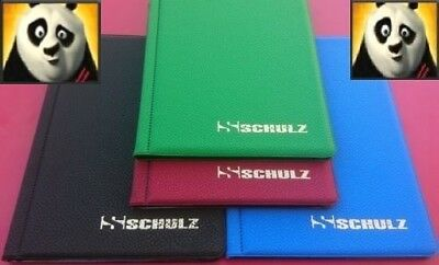 SCHULZ Coin Album for 96 Coins up to 33mm Perfect for Penny , 50p , £1 , £2 etc.