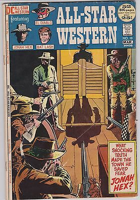 All Star Western # 10 1St Jonah Hex Vg/fine