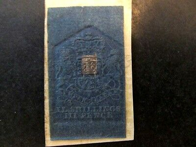Great Britain, Embossed Revenue, 2 Shilling 3 Pence