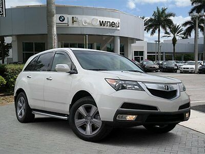 2013 Acura MDX Leather 2013 ACURA MDX TECH clean carfax no accidents non smoker florida