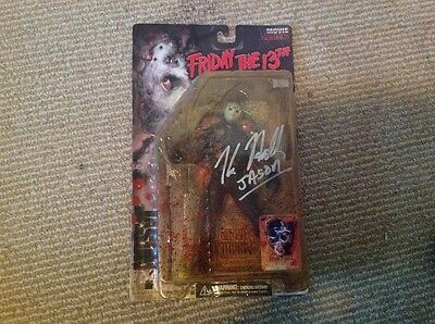 Friday the 13th Jason Goes to Hell Authentic Autographed Figure