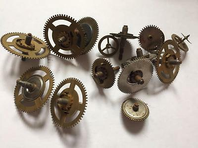 VINTAGE CLOCKMAKERS CLOCK COGS for SPARES OR REPAIR