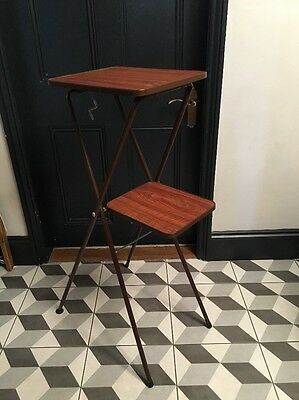 Vintage Projector Projection  Table Stand Table For Cine Av Etc  Vgc