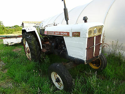 david brown 1210 tractor for spares or repairs