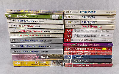 Harlequin Romance Mixed lot of 24 – various years 1974 - 2013