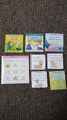 American Girl Bitty Baby Twins Books - Lot of 8