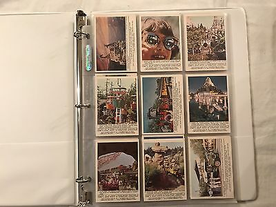 1965 Donruss Disneyland Trading Card Set of 66 (1-66) in MINT Condition SEE DESC