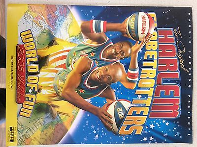 This Is The Official Programme Of The HARLEM GLOBETROTTERS 2005