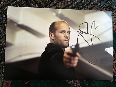 Jason Statham signed photo (In Person) The Fate of the Furious, Expendables