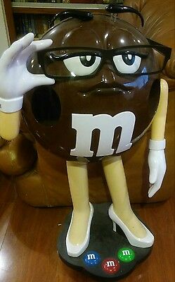 Collectible & Cute Sassy Ms Brown M&M Store Display On Casters