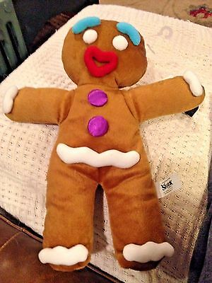 "NWT Gingerbread Man Hand Puppet 12.5"" Plush Body from Shrek the Musical"