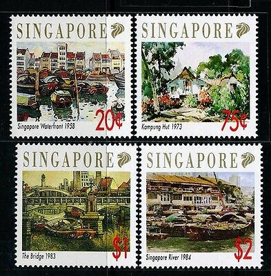 SINGAPORE SC617~20 Set, 1992 Paintings, MNH $6