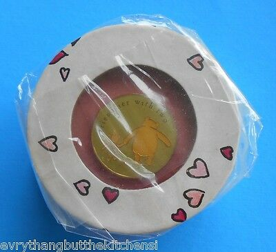 Disney Pin Classic Pooh & Piglet Friendlier W Two Sealed Round Gift Box Pin 6638