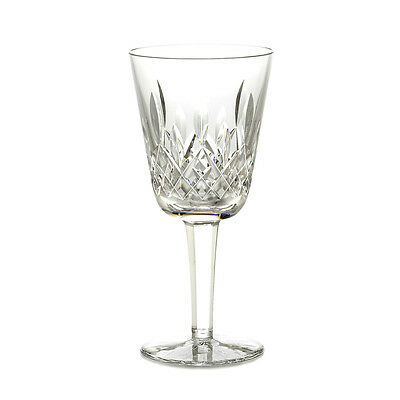 Waterford Crystal Signed Lismore White Wine Glass/ Glasses, Brand New
