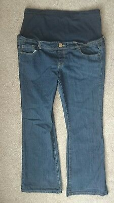 New Look Bootcut Blue Maternity Jeans Size 14
