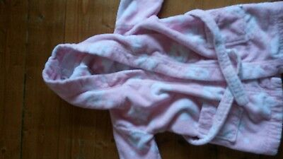 baby girl dressing gown size 18-24 months