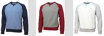 Tommy Hilfiger Men's Crew Neck Long Sleeve Sweater Sweatshirt Variety **NWT**