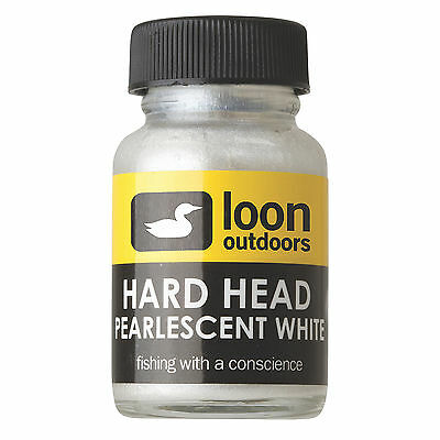 Loon Outdoors Hard Head Fly Tying Cement White Pearlescent