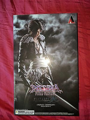 Dissidia Final Fantasy: Squall Leonhart Play Arts Kai Action Figure