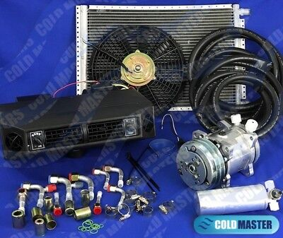 A/c Kit Universal Underdash Evaporator Compressor 2A Air Conditioner Heat & Cool