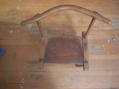 Small chair from 19th century, American