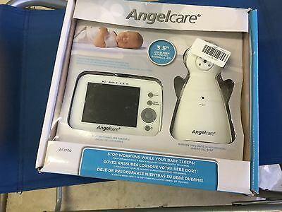 Angelcare 3.4 inch Movement Video and Sound Baby Monitor - AC1300