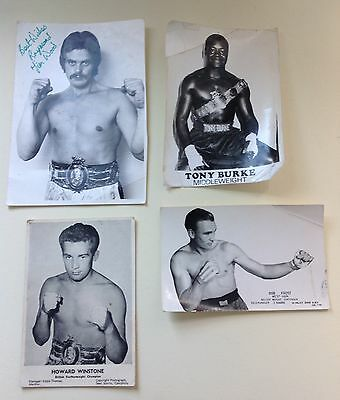 Collection of Boxing Photographs