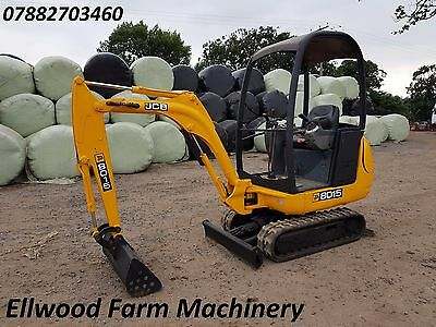 jcb mini digger 1.5 ton 2 buckets tractor telehandler dumper delivery available