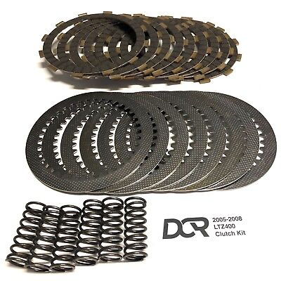 LTZ 400  DVX 400  Heavy Duty DCR Clutch Kit Plates Steels Springs 2005 - 2008