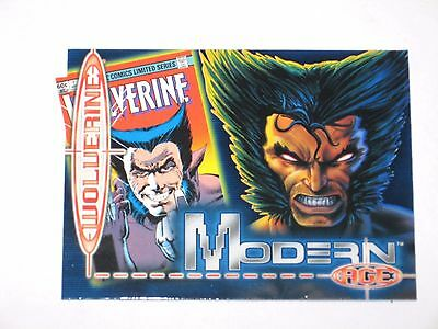 1999 MARVEL COMICS MODERN AGE Previews Exclusive WOLVERINE PROMO CARD X-MEN!