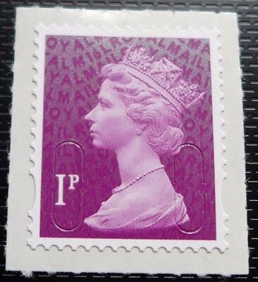 2016 1p Machin MA16 Code SINGLE STAMP from Counter Sheet - MULTIPLE LISTINGS
